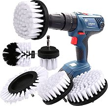 Brush Attachment Drill Set 5 Pieces Drill Brushes