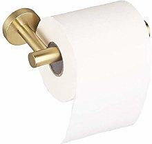 Brushed Golden Toilet Paper Holder, Bathroom