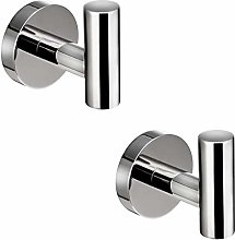 Brushed Nickel Bath Towel Coat Hook SUS304