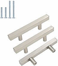 Brushed Nickel Hardware Drawer pulls-Goldenwarm