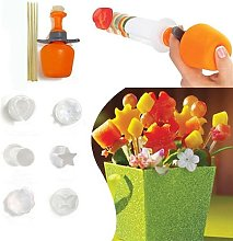 Brussels08 6Pcs Fruit and Vegetable Shape Cutter