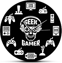 BRYSJ Gaming Time Video Game Wall Watch Console