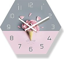 BRYSJ Pink Flower Design Nordic Style Living Room