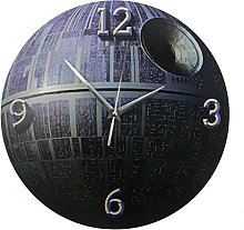 BRYSJ Round 3D Wall Clock Fictional Mobile Space