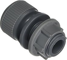 BS7291 Part 1 and 2 Push Fit Tank Connector, Grey,