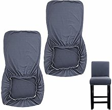 BSTKEY 2 Pack Stretchable Height Side Chairs