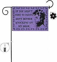 """BSTOB Purple Prince Flag with """" If You"""