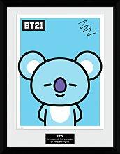 BT21 Koya Framed Print Wall Art
