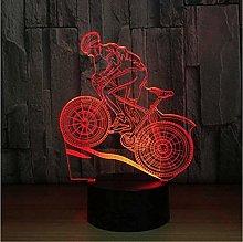 BTEVX 3D USB Home Decor LED Night Lights Mountain