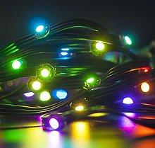 BTF-LIGHTING 50x WS2812B Pre-soldered Black LEDs