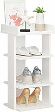 BTGGG 4 Tier Shoe Rack Shoe Storage Cabinet, Free