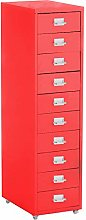 BTGGG Heavy Duty Filing Cabinet with 10 Drawer,