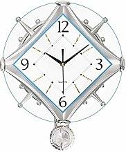 BTKDIDDDDD Decorative Wall Clock Battery Operated