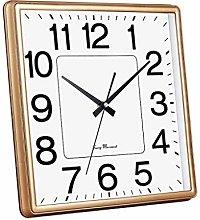 BTKDIDDDDD Decorative Wall Clock Square Quartz,
