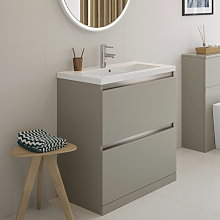 BTL Carino 600mm 2 Drawer Floor Standing Vanity