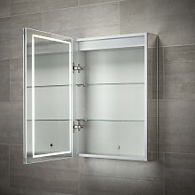 BTL Pegasus 500x700mm 1-Door LED Mirrored Cabinet