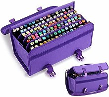 BU-SOH Markers 120 Slots Marker Pen Case Lipstick