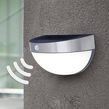 Bubble - solar outdoor wall light with sensor