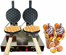 Bubble Waffle Maker, Commercial Electric Stainless