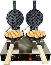 Bubble Waffle Maker Electric Double Eggettes Maker