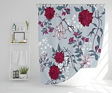 Bubovice Polyester Shower Curtain Set Rosalind