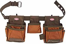 Bucket Boss 50250 Tool Bag, Brown