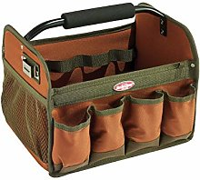 Bucket Boss Gatemouth Tool Tote in Brown, 70012