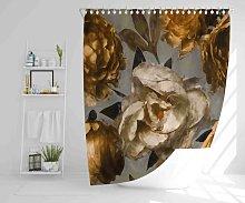Buckeys Polyester Shower Curtain Set Rosalind