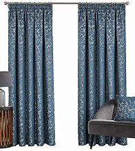 BUCKINGHAM – DAMASK JACQUARD CURTAIN –