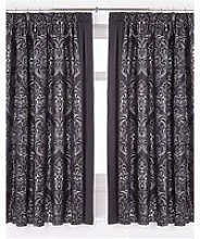 Buckingham Lined Pencil Pleat Curtains