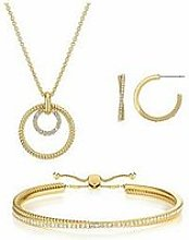 Buckley London Cleo Earring, Pendant And Bracelet