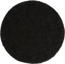 Buddy Mat Rug - 100x100cm - Black.
