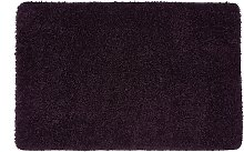 Buddy Plain Shaggy Mat  Rug - 150x67cm - Purple.