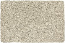 Buddy Plain Shaggy Mat  Rug - 200x140cm - Stone.