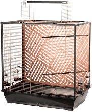 Budgie Cage Siri 78x48x81.5-100 cm Copper -
