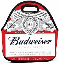 Budweiser Insulated Lunch Bag Tote Picnic Box