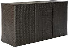 Buffaloberry Dustbin Storage Box Sol 72 Outdoor