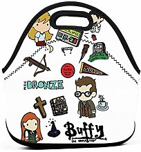 Buffy Etc Work Picnic School Insulated Lunch Bag