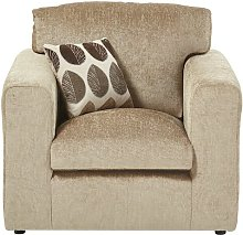 Buford Armchair ClassicLiving Upholstery: Taupe
