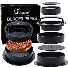 Bugucat 3 in 1 Burger Press,Non-Stick Stuffed