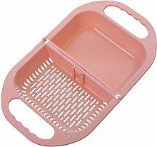 BUIDI Foldable Fruit Vegetable Washing Basket