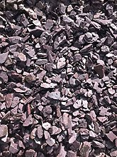 Buildershop UK 20mm Plum Slate Chippings Bulk Bag