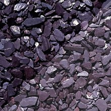 Buildershop UK 40mm Blue Slate Chippings Bulk Bag