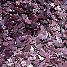 Buildershop UK 40mm Plum Slate Chippings Bulk Bag