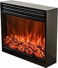 Built-in decorative heating fireplace - house