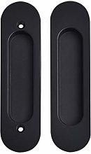 Built-in Door Handle Embedded Pair of Handles