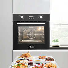 Built-in Electric Oven Glass Stainless Steel