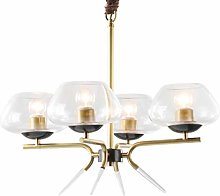 Built-in luminaire Copper Glass Chandelier-Home