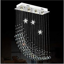 Built-in luminaire Crystal Chandelier LED Warm