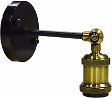 Bulb Socket Lamp Socket Adapter Retro LED Wall